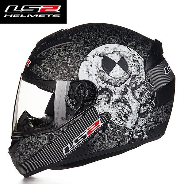 Neue LS2 FF352 Full Face Motorradhelme ECE genehmigt Racing Helm Moto Helm capacete da motocicleta L XL XXL Größe