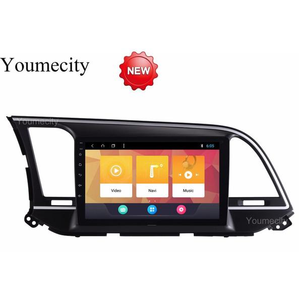 Android 8.1 Car DVD para HYUNDAI ELANTRA 2016 2017 2018 GPS radio video Reproductor multimedia capacitivo IPS Pantalla RDS