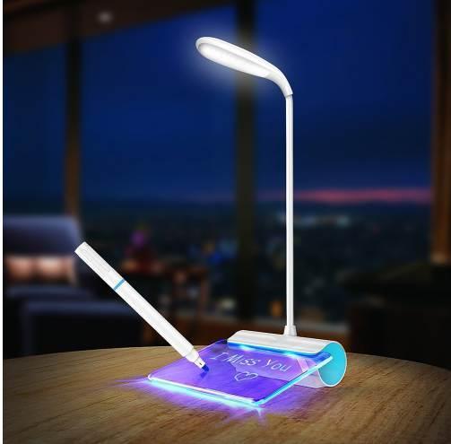 Novedad Lámpara Interruptor Luz Interruptor De De De Lectura Lámpara LED De LED Rechageable Compre Mesa Ocular Táctil USB Escritorio Protección mNn0O8wv