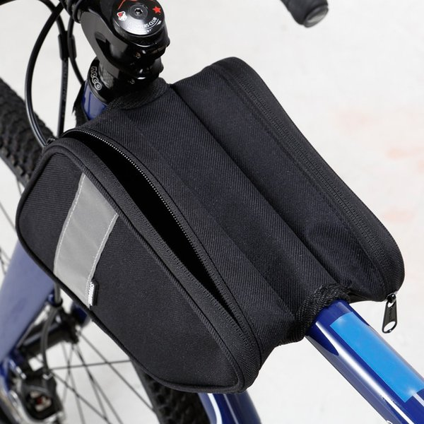 Large Capacity Bicycle Front Tube Bag On The Frame Mountain Bike Top Tube Bag Cycle Panniers For Bicycle Accessories New
