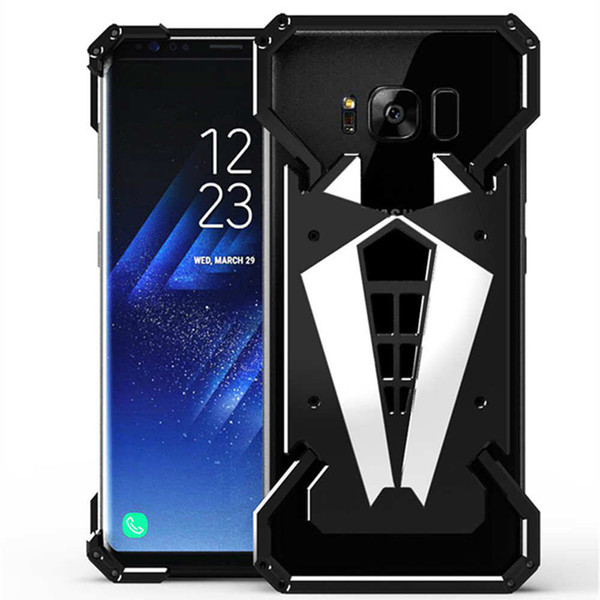 Aluminium Alloy Metal Shockproof Phone Case Anti-Knock Bumper For Samsung S8 Plus Case Cover For Samsung Note8 Back Cover Cases