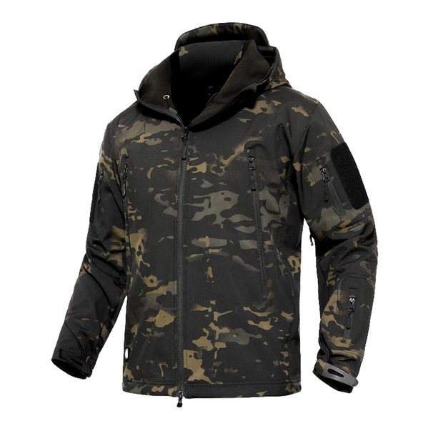 Shanghai Story Military Tactical Army Jacket TAD GEAR Soft SHELL Jacket Outdoor Hiking Coat Waterproof Windproof Jackets 17 color