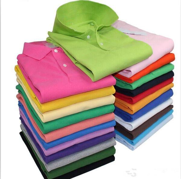 S-6XL Marka Yeni stil erkek polo gömlek Üst Timsah Nakış erkekler kısa kollu pamuklu gömlek formalar polos gömlek Sıcak Satış Erkekler giyim