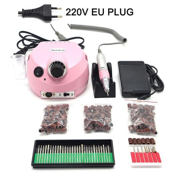 Color:pink EU plug