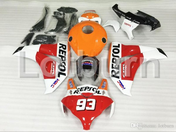 Bodywork Moto Fairings Fit For Honda CBR1000RR CBR1000 CBR 1000 RR 2008 2009 2010 2011 Fairing kit Custom Made High Quality ABS Plastic A567
