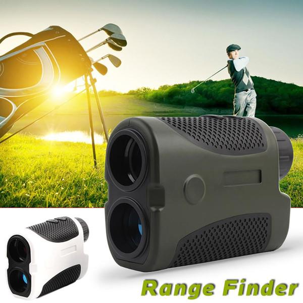 top popular 400 Meters Ranging Golf Laser Handheld Range Finder Slope Compensation Angle Scan Monocular Golf Hunting Laser Range Finder 2019