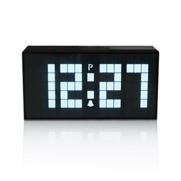 LED Digital Wecker mit Zeitprojektion hölzerne Uhr Büro elektronische Uhr Saat Wetterstation Tischuhr