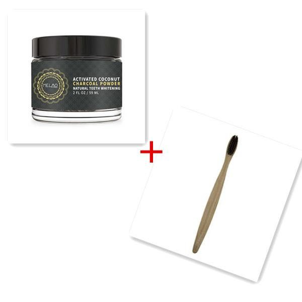 top popular Top Quality Natural Teeth Whitener Active Teeth Whitening Charcoal Powder Natural Top seller 59ml DHL free shipping 2021