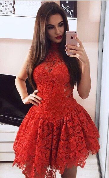 Robe soiree 2018 rouge