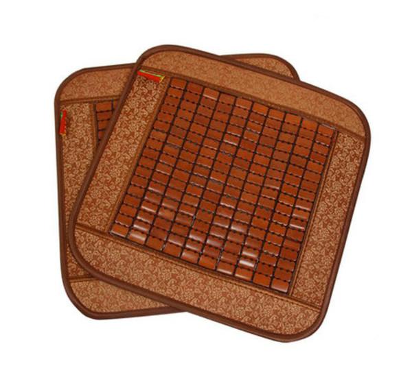 45x45CM Летний дом охлаждающая подставка для стула Прохладный бамбуковая подушка - автомобильный коврик для сиденья Summer Comfort, дышащий офис