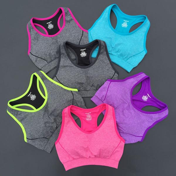 Wholesale Women Sports Bras Workout Tank Top Seamless Bra Sports Bras Yoga Bra High Impact Workout Gym Activewear Bra