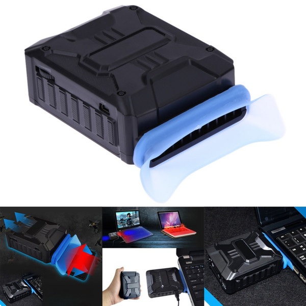 New Promotion USB Cooler Mini Vacuum USB Air Extracting Exhaust Cooling Fan CPU Cooler for Notebook Laptop PC