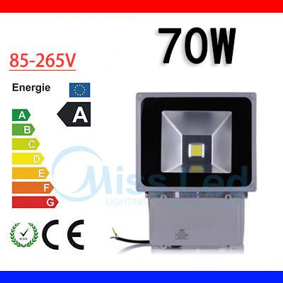 Waterproof IP65 70w Led Flood light 85-265v outdoor lighting lamp flood light White Warm white Blue Green For Hotel Grass