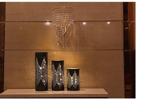 Soggiorno Moderno Con Tavolo In Legno.Acquista Lampada Da Tavolo Lampada Stile Asiatico Moderno Con