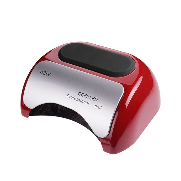 Professional 48W CCFL UV LED Lamp Nail Dryer Cure Nail Polish Gel Nail Lamp Art Manicure Tools Automatic Induction Y18100907