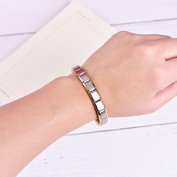 Men's Bracelet Energy Germanium Magnetic Tourmaline Bracelet Health Care Jewelry For Women Bracelets Bangles Jewelry