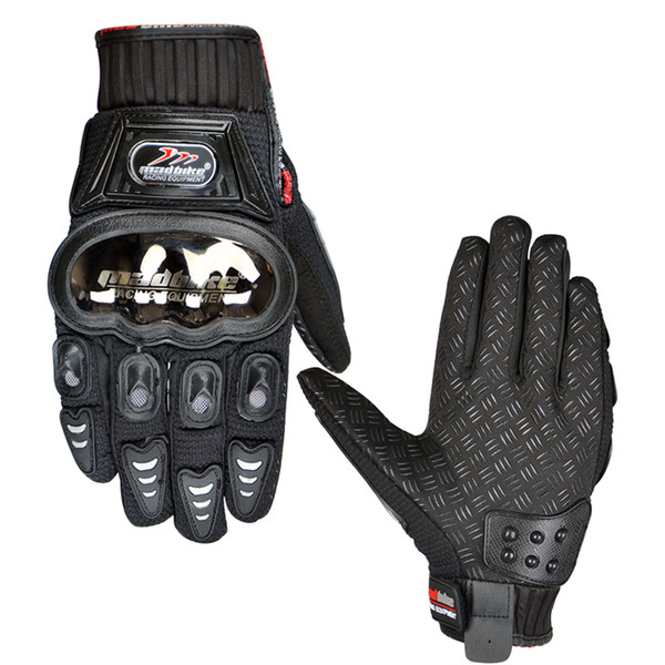 Guanti da moto automobile da corsa guanti da moto pieni guanti antiscivolo M-XXL Bike Glove