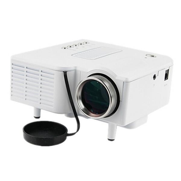 Projecteur vidéo UC28B Projecteurs LED populaires populaires Support de carte de support durable durable TF 4: 3 16: 9 Enseignement Home Cinéma Cinéma Gaming Noir Blanc