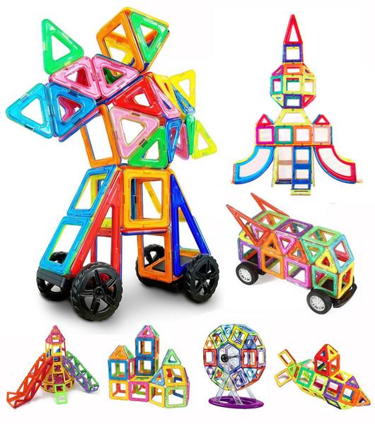 best selling Magnetic Building Blocks Tiles Set Educational Toys for Kids Toddlers Children 60-315 Pcs Set