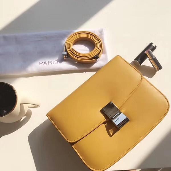 2018 nuevas mujeres de la llegada elegante bolso de la manera dos colores hombro femenino shoppign vintage envío gratis 23 cm bolsas de crossbody