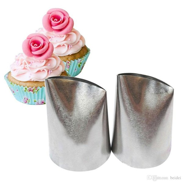 EPRHY Cupcake Decorating Pastry Tool Cake Rose Flower Icing Piping Tips Nozzle