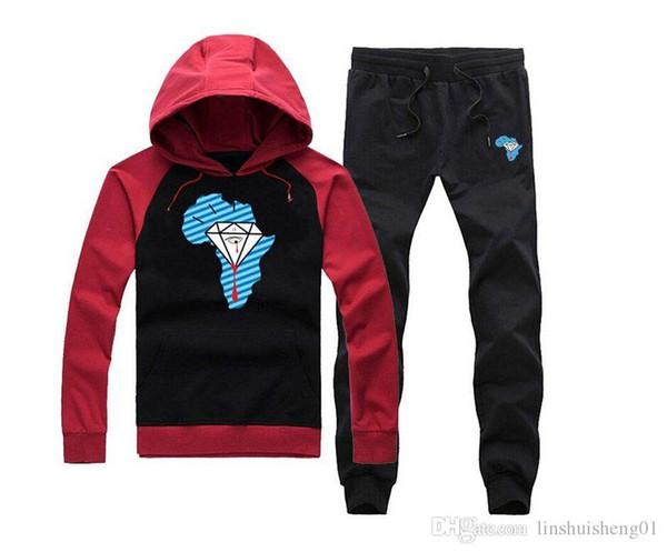 Unkut Nouvelle marque Mens Sweat à capuche mâle à la mode, plus la laine épaisse couche vierge en gros marée coton à capuche + pantalon S-XXXL 01