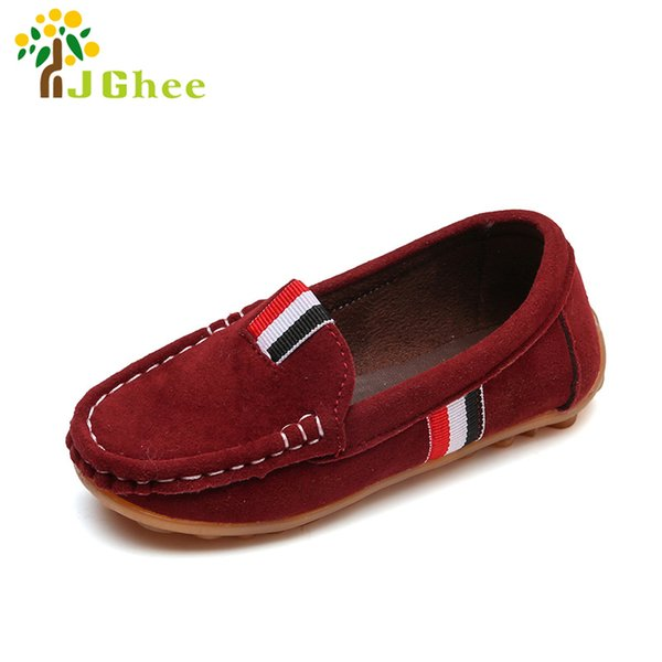 J Ghee Fashion Soft Boys Shoes Kids Loafers Slip On Children'S Casual Sneakers For Medium Boys Classic Euro Size 26 30 Browns Kids Shoes Kids Casual