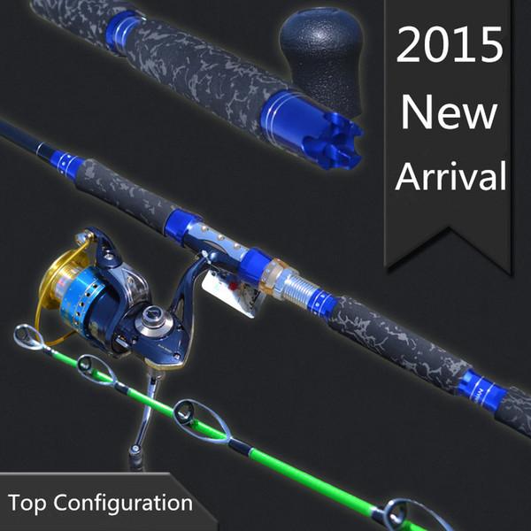 Tideliner 18m 2.1m 2.4m Jigging boat trolling fishing rod spinning high carbon fiber rod pole for big game test weight 8.5KG