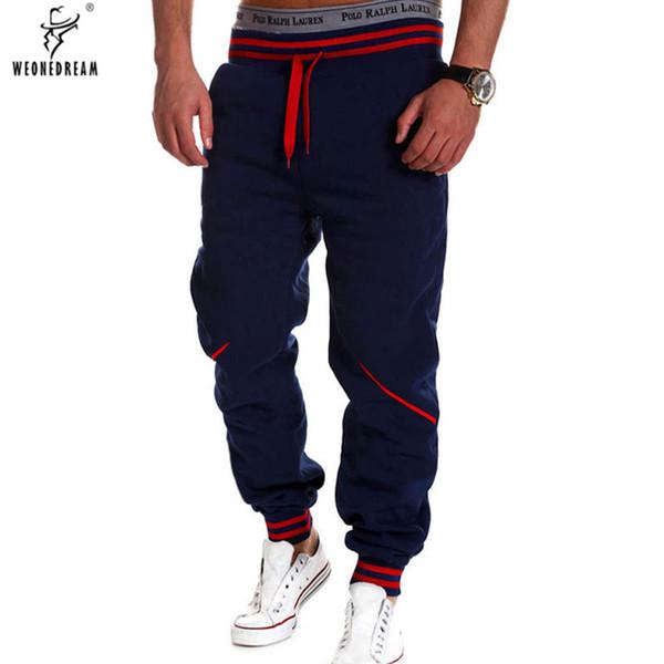 WEONEDREAM Pantalones para hombre Pantalones para hombre Pantalones de  chándal ocasionales sueltos Pantalones de entrenamiento para 56013ccbc08ee