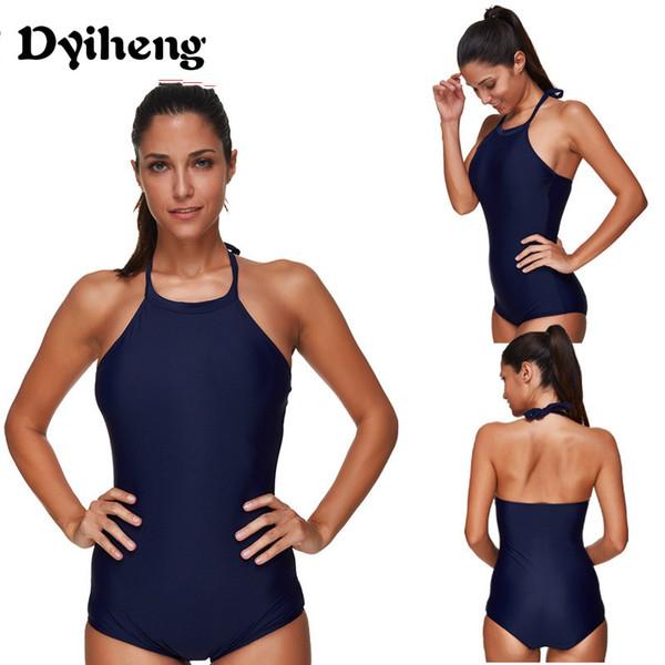 Dyiheng Tank Bikini One Piece Swimsuits For Women Cover Up Plus Size Swimwear High Cut Brazilian Bathing Suits Swimming Costume