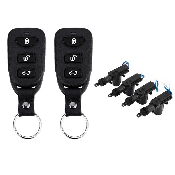Universal Vehicle Remote Central Lock Unlock Keyless Entry System Power Window Switch Car Anti-theft Alarm System LB - 501 L240