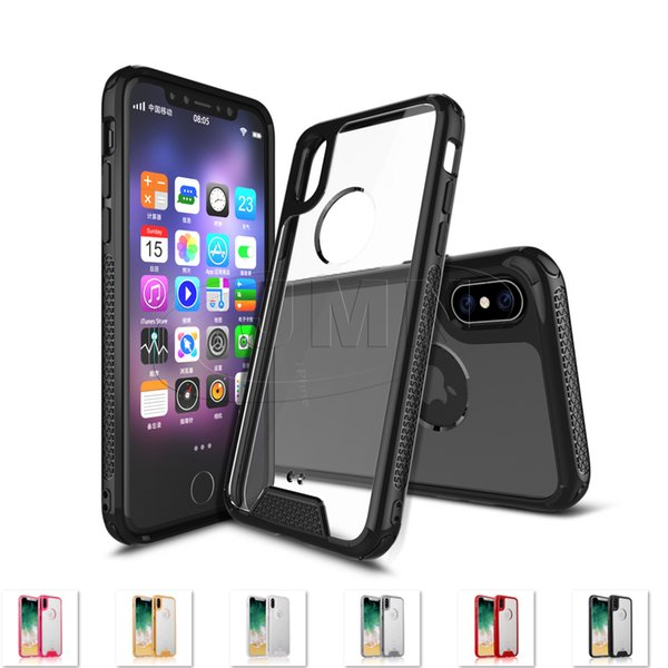 Quality High Clear Transparent cell Phone Case for iPhone X 8 7 6 5 Plus For Samsung Galaxy S8 S8Plus Note8 S7 S7Edge J7prime j5prime A3 A5