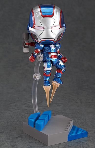 War Machine Iron Man 3 Patriot 392Q Edition poupée mobile homme en argile modèle de jouet de 10cm de hauteur