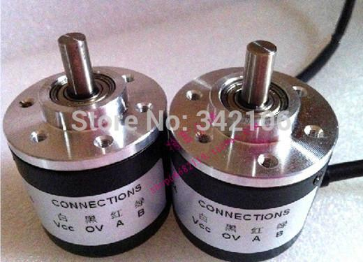Free Shipping!!! 400 line encoder / optical rotary encoder / AB with 400 pulses w2 m