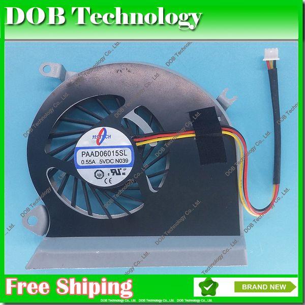 Original Fan For MSI GE70 MS-1756 MS-1757 PAAD0615SL N285 DC Brushless Laptop CPU Cooler Radiators Cooling Fan