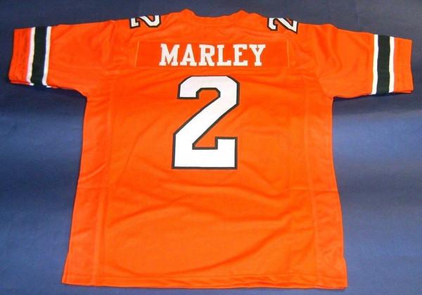 buy popular 4bf8b 521bc 2019 CUSTOM Men #2 ROHAN MARLEY UNIVERSITY OF MIAMI ...