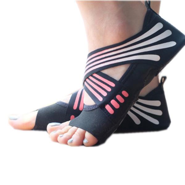 DDU Nouveau Gym Sport Exercice de Yoga Chaussette antid/érapant en Coton Hot Pink
