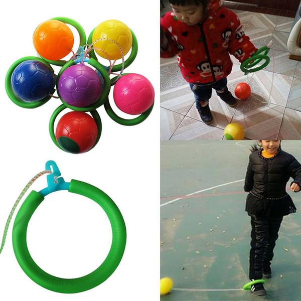 New Safe ABS Skip Ball Outdoor Fun Toy Balls Classico giocattolo da salto Attrezzature per il fitness Giocattolo da intrattenimento all'aperto
