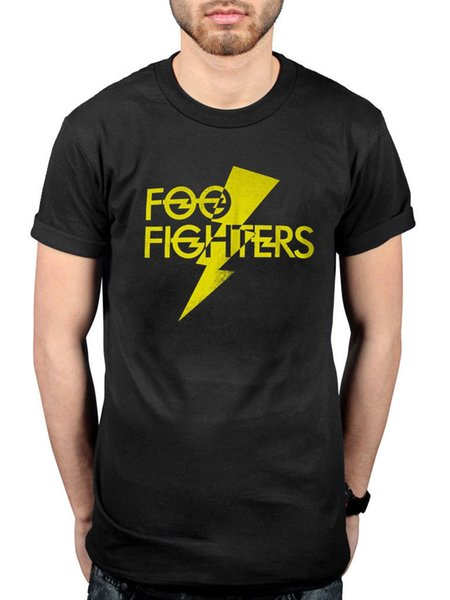 Camiseta oficial de Foo Fighters Lighting Strike en tu honor, perdiendo la luz