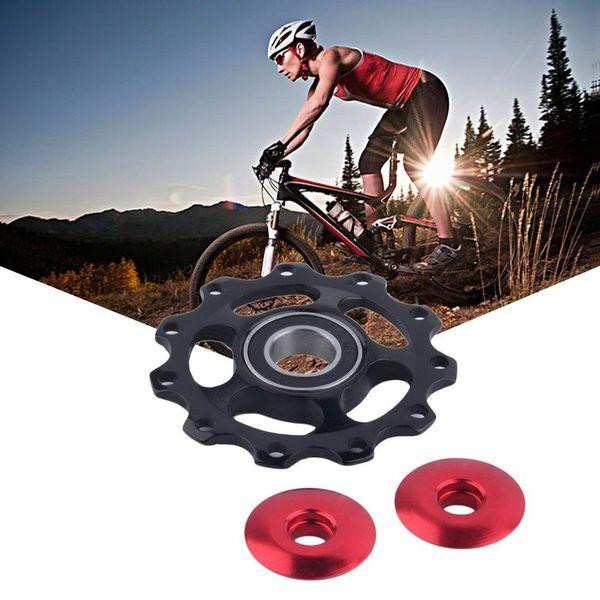 Новый модернизированный RS подшипник алюминиевый велосипед жокей колесо заднего переключателя велосипед с 11т передач направляющий шкив