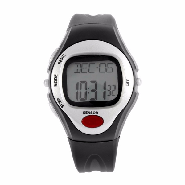 Pulse Heart Rate Monitor Calories Counter Fitness Watch Digital Wristwatches Calendar Display Time Stop Watch Alarm A43