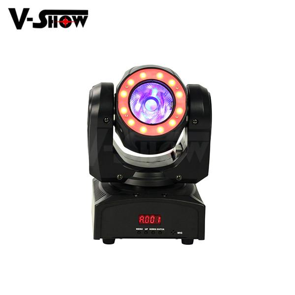 Vshow Top sell Mini 60W Beam halo LED stage light club moving head light disco halo moving head light