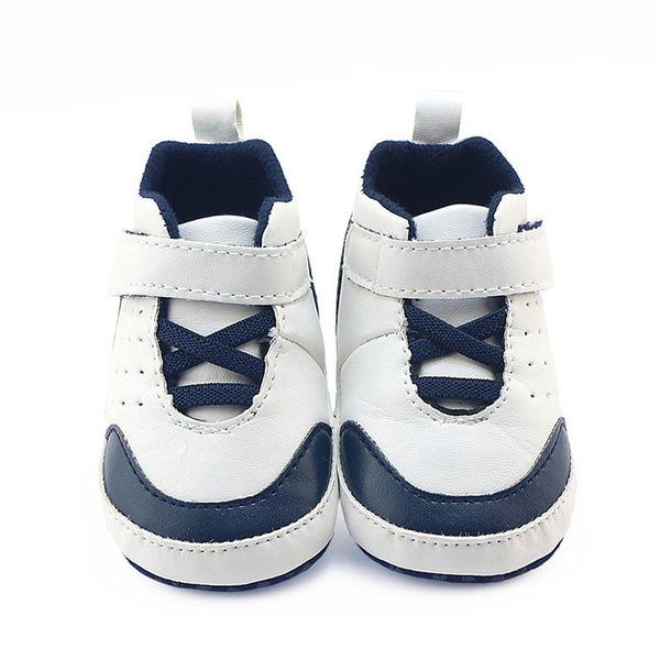 Chaussures pour enfants Chaussures pour bébés Nouveau-nés Bébés Bébés Garçons Filles Berceau Semelle souple Baskets antidérapantes Enfants 2sw0811