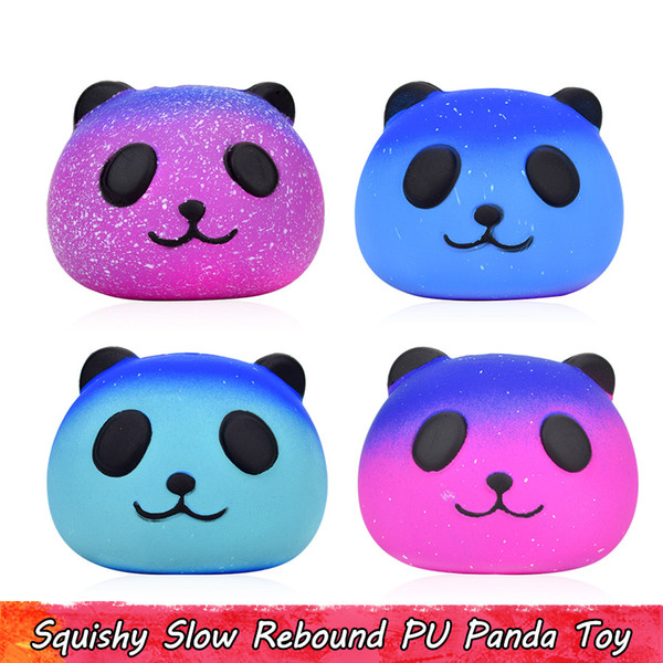 Children/'s Adult Lovely Panda Animal Shape Soft Squeeze Stress Relieve Toy