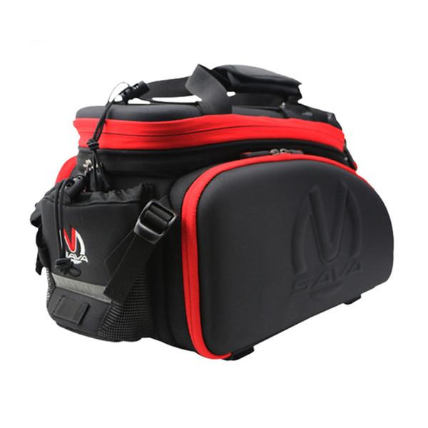Bike Pannier Bag Bicycle Rear Seat Excursion Cycling Riding Travel Trunk Handbag