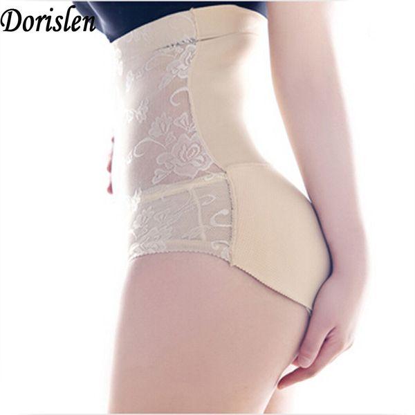 Printing High Waist Hip Enhancer Padded Panty Seamless Bottoms Up Underwear Fake Ass 50pcs