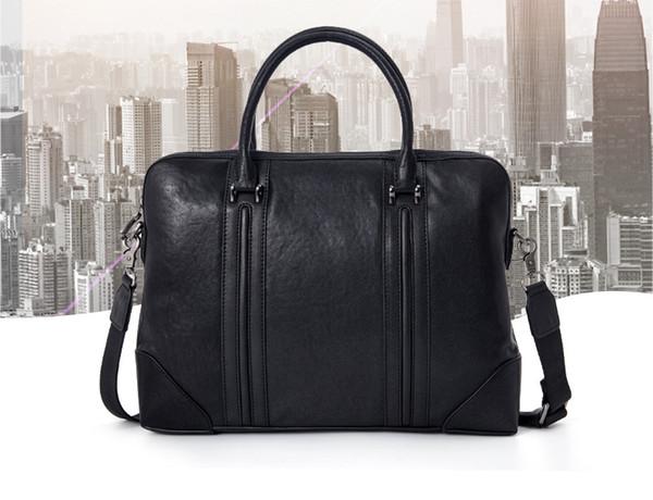 Borse da uomo 2018 nuova borsa da viaggio in pelle primavera Valigetta da uomo europea e americana della ventiquattrore vendita diretta