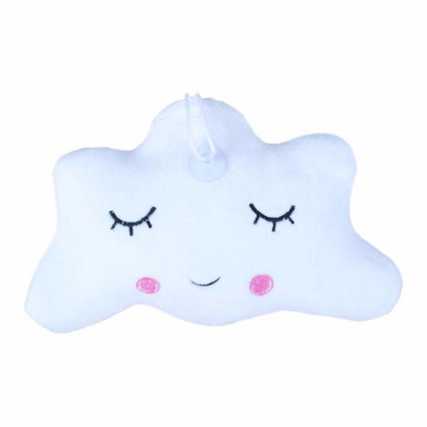 Creative Baby Pillow Cute Cartoon Star Moon Cloud Sleep Pillows with Smile Lovely Child Kids Plush Toy Cushion Princess Doll