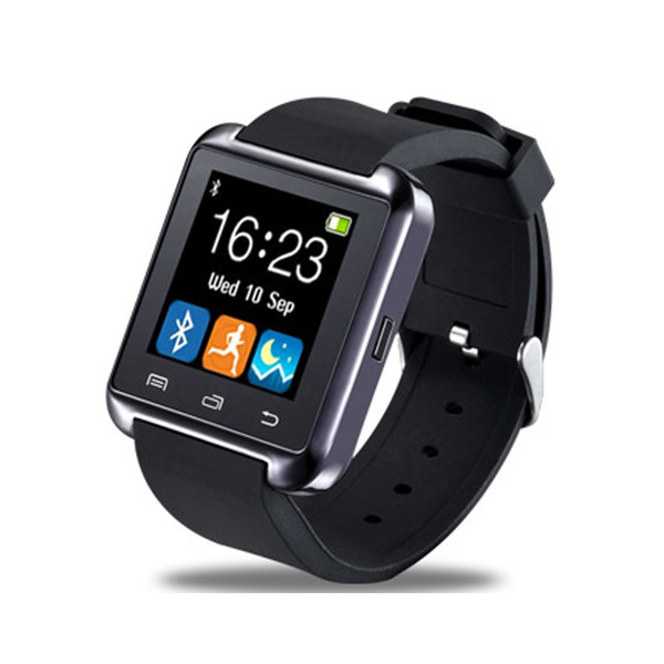 Hot U8 Bluetooth Smart Watch Watch Wrist Smartwatch for iPhone5 5S 6 6S 6 plus Samsung S4 S5 Note 2 Note 3 HTC Android Phone Smartphones
