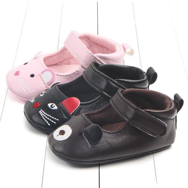 Großhandel Baby Prinzessin Schuhe Kleinkind Pu Leder Schnalle Erste Wanderer Baby Mädchen Cartoon Hallo Kitty Schuhe Weichen Boden B11 Von Start_baby,